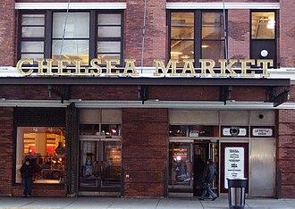 Chelsea Market - Image: Chelsea Market entrance