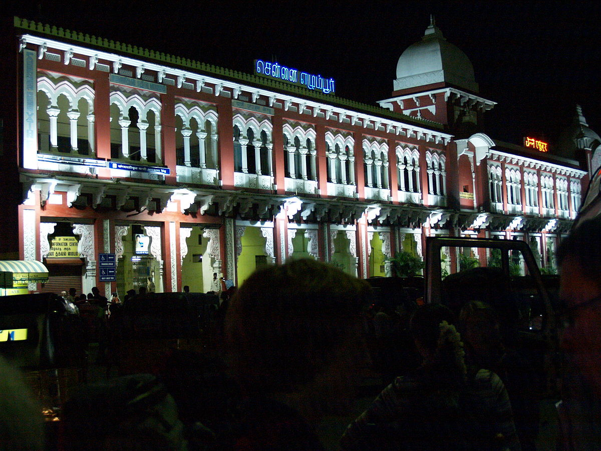 Chennai Egmore railway station Wikipedia
