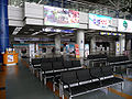Cheongju airport check-in counter for international flight 20090404.jpg