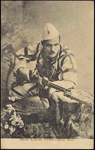 Miša Aleksić-Marinko - Image: Chetnik Milan Aleksić