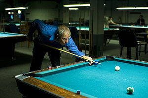 Billiard hall - A pool hall in Chicago, Chris's Billiards, where parts of The Color of Money were shot