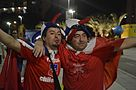 Chilean fans celebrate win over Spain 06.jpg