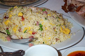 Yangzhou fried rice - Image: Chinese fried rice by stu spivack in Cleveland, OH