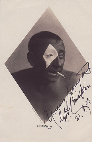 G. H. Chirgwin - Photo autographed in 1904