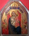 Chisa di s. maria di ricorboli, int., bottega di giotto, madonna del rifugio, 1335 circa 03.JPG