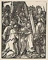 Chist Carrying the Cross, from The Small Passion MET DP816036.jpg