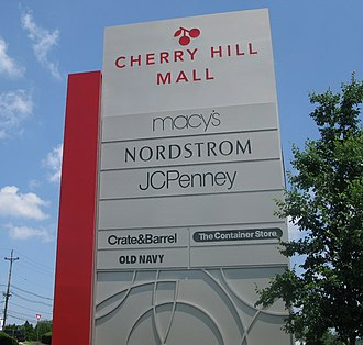Cherry Hill Mall - Cherry Hill Mall signage