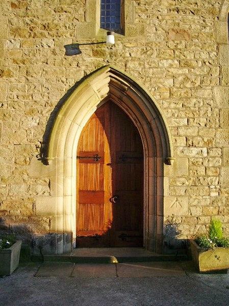 File:Christ Church, Glasson, Doorway - geograph.org.uk - 615316.jpg