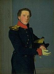 Portrait of the Naval Lieutenant D. Christen Schifter Feilberg