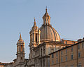 Church Sant'Agnese in Agone, Dome and towers, Rome, Italy.jpg