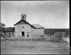 Church at Villanueva, around 1915