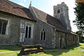 Church of St Christopher, Willingale, Essex, England - exterior from northeast.JPG