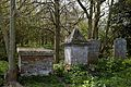 Church of St Mary Magdalen Laver Essex England - churchyard tombs.jpg