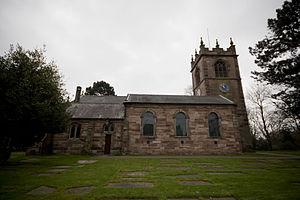 Flixton, Greater Manchester - St Michaels Church in Flixton Village