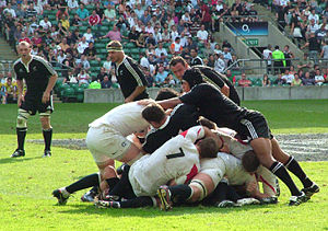 Churchill Cup - The Māori playing the Saxons in 2007