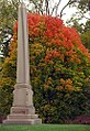 "Cincinnati - Spring Grove Cemetery & Arboretum ""Obelisk At Maple Tree"" (8140927852).jpg"
