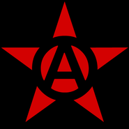 Circle-A red star