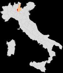 Chiari fu capoluogo del proprio circondario per oltre 100 anni (1815-1927)