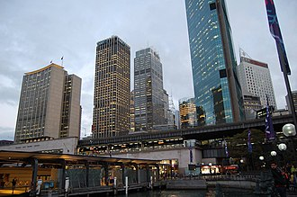 Circular Quay - Circular Quay skyline, Sydney