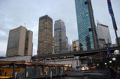 How to get to Circular Quay with public transport- About the place