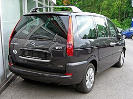 Citroën C8 HDI Facelift 20090503 rear.jpg