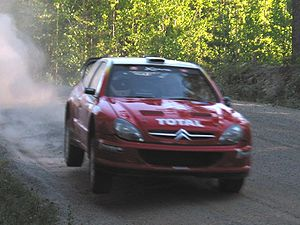 Citroën World Rally Team - Citroën Xsara WRC at the Finland in 2002