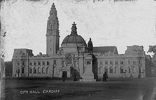 City Hall; Cardiff