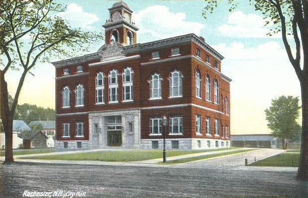 City Hall & Opera House, Rochester, NH