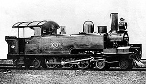 South African Class C2 4-6-4T - Image: Class C2, NGR no. 1 black