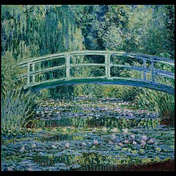 Claude Monet: Water Lilies and Japanese Bridge