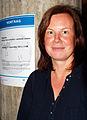 Claudia Wilholt-Keßling, Dezernentin Niedersächsisches Landesinstitut für schulische Qualitätsentwicklung, Vortrag Wikipedia Wissen lokal schöfen - global sharen in der GWLB.jpg