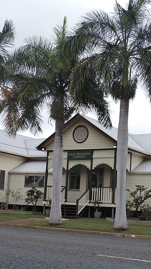 St Lawrence, Queensland - Offices of the Isaac Regional Council (formerly Broadsound Shire Council Chambers), 2016