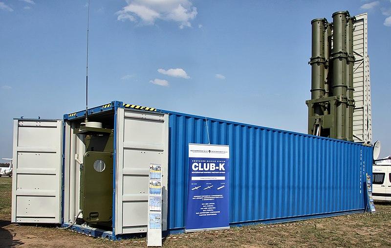 Vídeo – Club-K Sistema de Mísseis Container