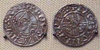 Housecarl - A coin from the reign of Cnut, such as may have been used to pay Cnut's housecarls.