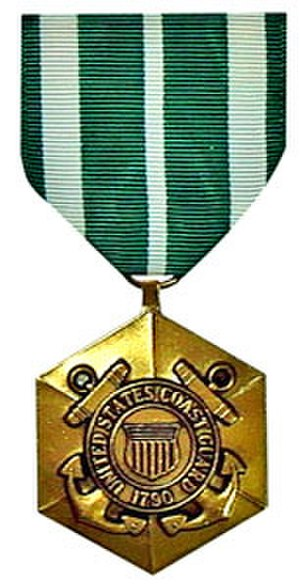 Commendation Medal - Image: Coast Guard Commendation Medal