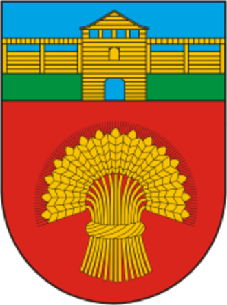 Minsk District - Image: Coat of Arms of Miensk district