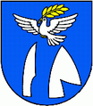 Coat of arms of Tlmače.png