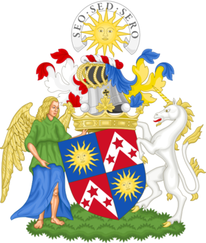 Marquess of Lothian - Image: Coat of arms of the Marquess of Lothian