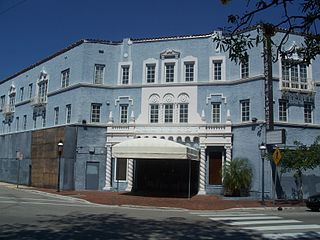 Coconut Grove Playhouse former theater and movie theater in Coconut Grove, Miami, Florida, United States