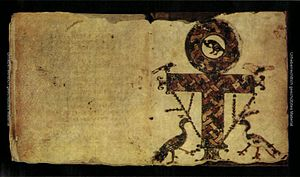 Ankh - Crux ansata in Codex Glazier