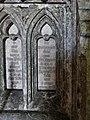 Cofeb Augustus Eliott Fuller; Eglwys Llangadwaladr church, Ynys Mon (Anglesey), Cymru (Wales) 27.jpg