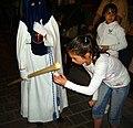 Cofradía de la Oración de Nuestro Señor en el Huerto de los Olivos y María Santísima de la Amargura, Granada, Semana Santa 2009 (15).JPG