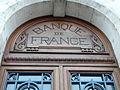 Cognac Bd Denfert-Rochereau Banque de France dessus porte.JPG