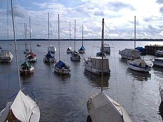 Entre Ríos Province - Boats on the Uruguay River, Colón.