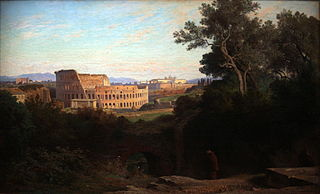 The Colosseum seen from the Palatine