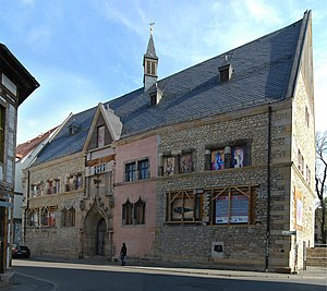 Erfurt - Collegium maius building of the old university (1392)