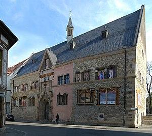 Erfurt - Collegium maius building of the old university (1392)