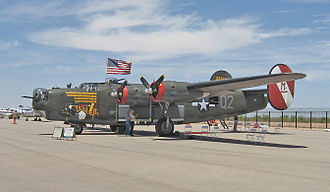 """Collings Foundation - Collings Foundation's B-24J """"Witchcraft"""" at Marana, AZ on April 11, 2011"""