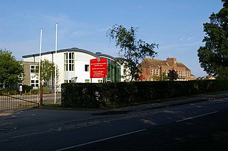 The Colne Community School and College Academy in Brightlingsea, Essex, England