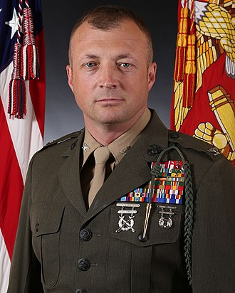 Faylaka Island attack - Matthew S. Reid, one of the U.S. Marines present during the attack, pictured here in the mid-2010s as a colonel.